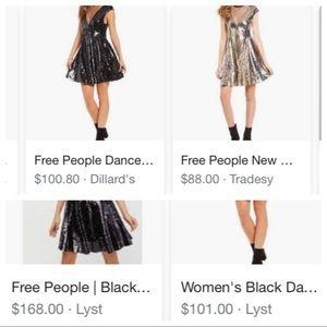 664e1b26b46 Free People Dresses - NWT Free People Dance Til Dawn Sequin Dress